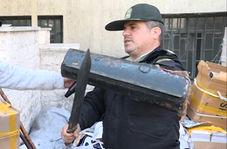 سپر و شمشیر خورزوخان در کهریزک کشف شد!