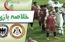 خلاصه بازی قشقایی شیراز 1 - شاهین بوشهر 0