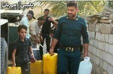 گریههای خواهر کوچک شهید ناجا در ماهشهر
