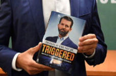کتاب پسر ترامپ با تقلب پر فروش شد