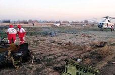 ویدئویی جدید از محل سقوط هواپیما