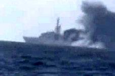 هدف قرار گرفتن کشتی جنگی سعودی در سواحل جیزان!