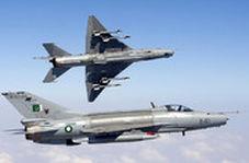 سقوط و انفجار هواپیمای نظامی در پاکستان