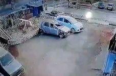 انفجار سیلندر گاز در خیابان با پنج زخمی