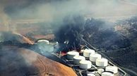 فیلم/آتش گرفتن پالایشگاه سانفرانسیسکو
