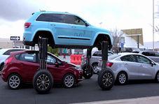 خودرویی عجیب که شما را از ترافیک نجات میدهد + فیلم