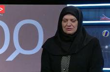 اشک های همسر مرحوم پور حیدری به یاد و خاطره ایشان