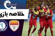خلاصه بازی فولاد خوزستان 1 - گل گهر سیرجان 0