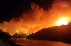 آتش مرگبار در ترکیه