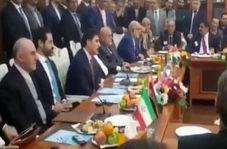 فارسی صحبت کردن نخست وزیر اقلیم کردستان عراق در دیدار با ظریف
