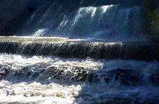 چشماندازی از آبشار زیبا در «کردکوی»