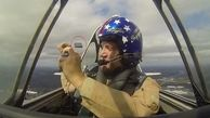 سلفی گرفتن خلبان در اوج آسمان پشیمانی به بار آورد