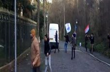 حمله تروریستهای الاحوازیه به سفارت کشورمان در هلند