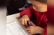 سرعت حیرت انگیز دانش آموز چینی در جمع و تفریق با چرتکه!
