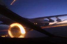سوختگیری بمبافکن های روسی در آسمان