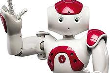 بازیگوشی ربات ژیمناست