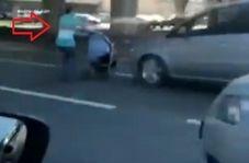 تصادف دلخراش مادر و نوزاد با خودرو