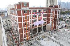 جابجایی هتل رستوران پنج طبقه در رود یانگ تسه+فیلم