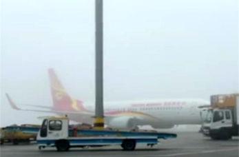 مه غلیظی که چین را فلج کرد! + فیلم