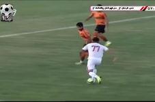 سوپرگل برگردون حمید کاظمی به مس کرمان