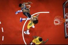 خلاصه بسکتبال فرانسه 98 - 100 استرالیا