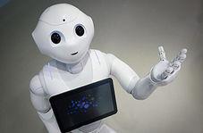 چهره رباتها هنگام کار کردن!