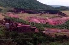 ویدئویی جدید از لحظه مرگبار فرو ریختن سد در برزیل