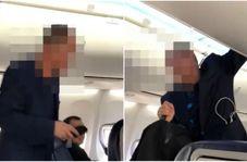لحظه گرفتار شدن یک دزد در داخل هواپیما!