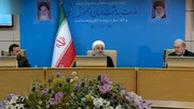 شوخی روحانی با وزیر بهداشت در یک مراسم رسمی