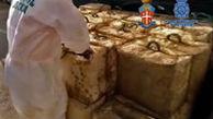 کشف ۲۷۰۰ کیلو حشیش در اسپانیا