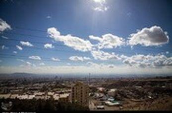 راز آسمان تهران و بارش بادمجان !