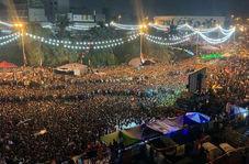 خوشحالی مردم بغداد از پیروزی فلسطین