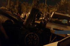 دختر پورشهسواری که باعث مرگ راننده پراید شد