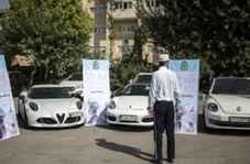 توقیف ۱۸۰ دستگاه خودروی تندرو در پایتخت!