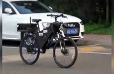 دوچرخهای که برای حرکت و حفظ تعادل، به نیروی انسانی نیازی ندارد