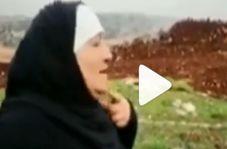 پیرزن لبنانی که سربازان صهیونیست را مورد عنایت قرار داد!
