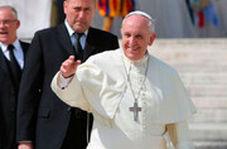 لحظه عصبانیت پاپ در مراسم شب سال نو!