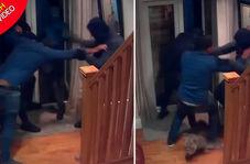 مبارزه شجاعانه مرد تاجر با چهار سارق مسلح