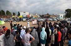 اقدام متفاوت طلبه ها در ساحل مازندران