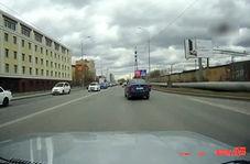 ویدئویی کامل از لحظه تصادف یک رنج روور با نیسان قشقایی