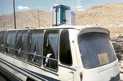 ابتکار جالب راننده های اتوبوس یزدی برای فرار از گرما!