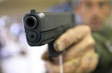 لحظه تیراندازی در سرقت مسلحانه از طلافروشی در بندر ماهشهر