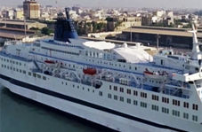 کشتی گراند فری، تحولی بزرگ در حوزه گردشگری دریایی + فیلم