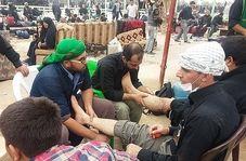 مهماننوازی و استقبال قابل تحسین مردم عراق از زائران حضرت سیدالشهدا(ع)!
