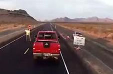 حادثه وحشتناک در بزرگراه با دو کشته